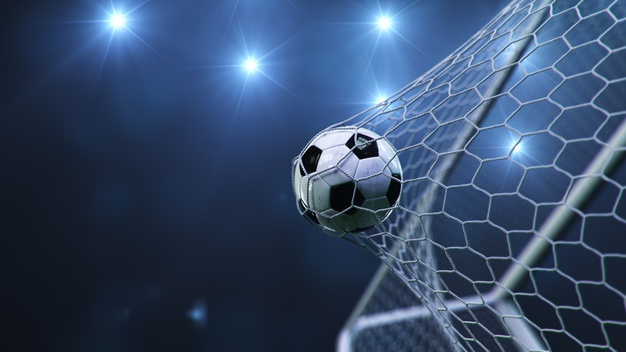 soccer ball flew into goal 92790 991